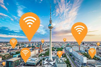 IT-Infrastrukttur - WLAN Spots
